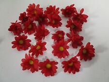 Dekoration 50 künstliche Sonnenblumen Blüten künstlich Seidenblumen Streudeko
