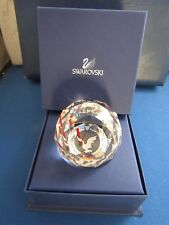 SWAROVSKI VE DAY 60th ANNIVERSARY CRYSTAL PAPERWEIGHT NEW IN BOX