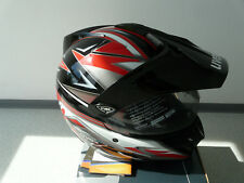 Casco per Moto Integrale da cross UVEX enduro 3 in 1 NERO LUCIDO XXL