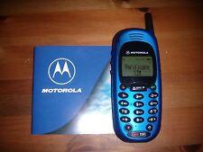 MOTOROLA CD930 GSM BLUE ELECTRIC UNICO ORIGINALE PERFETTAMENTE FUNZIONANTE