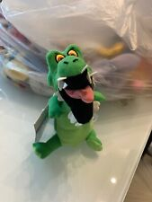 The Disney Store Peter Pan Crock Mini Bean Bag-Beanie-Tick Tock Croc-Crock NWT
