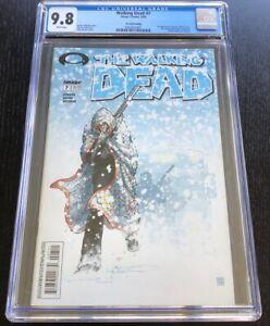 The Walking Dead #7 CGC 9.8 2nd Print 1st Tyrese, 1st Charlie Adlard art RARE!