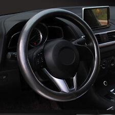 38 cm Universal Whole Carbon Fiber Pattern Auto SUV Lenkradbezug rutschfeste New