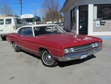 Old Photo.  Red/White 1969 Ford Galaxie 500 Automobile