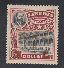 Liberia # 149 MINT 1915-16 Surcharge Presidential Mansion