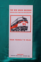 The New Haven Railroad - Timetable - Apr. 30, 1967