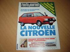 AJ N°18 1981 Ascona 1.6 S.Renault 30 TD.