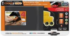 Cookina Paks SET OF 4 Reusable Grilling Bags Non-Stick Cooking with 2 free ring