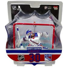 Henrik Lundqvist New York Rangers wit Net Imports Dragon NHL Figure L.E. of 1850