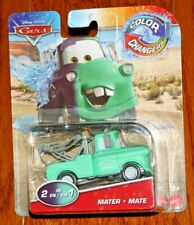 2020 DISNEY PIXAR CARS COLOR CHANGERS BABY BLUE MATER TOW TRUCK GREAT CAST HTF