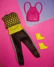 Barbie FASHIONISTA The Look Doll Clothes Lot URBAN CHIC PANT Set w Acc NOOP
