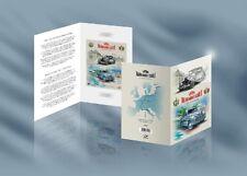 Booklet Electric cars Marathon Tallinn - Monte Carlo 2018 Estonia sheet