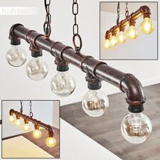 Lampe à suspension Lampe de salon Plafonnier Lampe pendante Lustre Retro Rouille