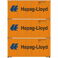Athearn HO Ready to Run 20' Corrugated Container Hapag Lloyd (3)