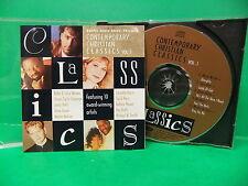 Contemporary Christian Classics Vol 1 V/A 1992 NM CD Steven Curtis Chapman