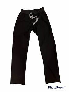 "Figs Technical Collection Livingston Scrub Pants Black XXS Inseam 30"""