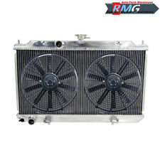 Aluminum Radiator For 2002-2006 Nissan Sentra SE-R 1.8L 2.5L2003 2004 2005 +Fans