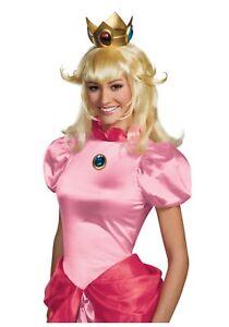 Super Mario - Princess Peach Adult Wig - Disguise