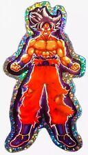 """2X Manga Dragon Ball Z DBZ Ultra Instinct Goku Foil Prism 4.5"""" Decal Sticker"""