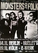Monsters of Folk 2009 Original Concert/Promo Poster DIN A 1  ,84 x 59 cm