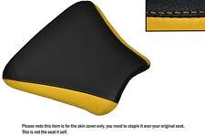 Diseño 2 Negro Y Amarillo Personalizado Para Honda Cbr 250 Mc 22 Frontal De Cuero Funda De Asiento