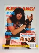 KERRANG #288 MAY 5TH 1990 UK MAGAZINE LOVE/HATE DAMN YANKEES DREAD ZEPPELIN<