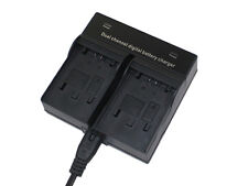 DUAL Battery Charger for JVC BN-VG107U Everio GZ-HM30 GZ-HM50 GZ-EX210 Camcorder