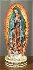 "Our Lady Of Guadalupe 8"" Praying Hands Rosary Holder Stand Statue"