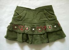 Gymboree Tyrolean Lure Olive Green Corduroy Skirt, Size 12-18mos