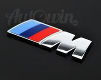 BMW 5 SERIES F10/F11 LCI Genuine ///M Sport Tri Color Emblem Logo Original OEM
