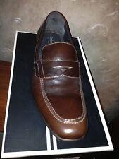 Robert Wayne Ritz Dark Brown Leather Loafer Size 7-NIB