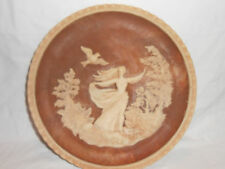 "Incolay Stone Plate Romantic Poets Series ""To A Skylark"" Greek Roman"