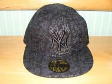 New York Yankees New Era Hat Tonality Black Cap 7 1/4