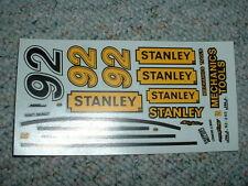 JNJ Hobbies 1/24 25  Decals #92 Stanley Tools Everett Chevrolet  QQ