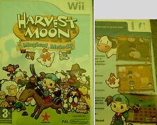 HARVEST MOON Magical Melody Wii Spiel Nintendo Wii Tiere Deutsch Englisch Neu OV