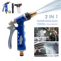 Useful Snow Water Foam Lance Washer Soap Bottle Car Pressure Wash Gun Garden