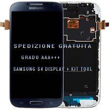 BLU LCD Display Touch Screen Cornice Frame per Samsung Galaxy S4 I9505 I9515
