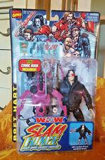 Bret Hart figure WCW WWE Toybiz Slam Force Wrestling Marvel NWO Hitman ECW TNA