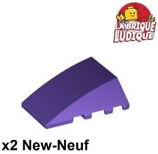 Lego 4x Aile Wedge plate 4x4 jaune//yellow 43719 NEUF