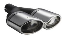 Ulter Sport Mufflers Exhaust Universal tailpipe oval 120x80 end-piece 250mm