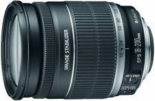 Canon EF-S 18-200mm f/3.5-5.6 IS Standard Zoom Lens for Canon DSLR Cameras (VG)