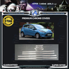 FITS TO FORD FIESTA WINDOW TRIM COVERS HIGH QUALITY 5YEARS GUARANTEE 2010-2014