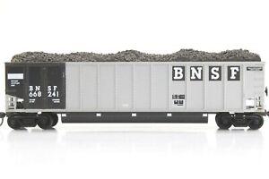 HO E&C Shops BNSF Johnstown Coal Porter Assembled +Kadee + Load No Steps #241
