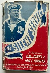 1944 1st THE SILENT SERVICE Ion Idriess FREE EXPRESS shipping AUST