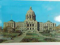 Minnesota State Capital Building St. Paul Posted Vintage Postcard