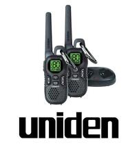 UNIDEN UH515-2 1.5W TWIN HANDHELD 80 CHANNELS UHF RADIOS SUIT HIKING BUSH CAR
