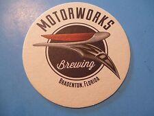 Beer Coaster <> MOTORWORKS Brewing Company ~ Bradenton, FLORIDA ~ Opened in 2014