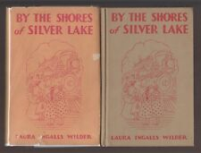 VG 1939 HC DJ First Edition Shores Silver Lake Laura Wilder Helen Sewell Prairie