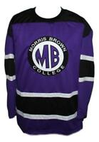 Martin Payne Morris Brown College TV Show Hockey Jersey New Purple Any Size