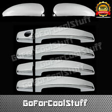 For Chevy Cruze 11-14 4Drs Handle W/O Pskh+Mirror 2Pc Chrome Covers